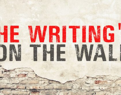 The Writing's On The Wall, Part 5 - COMmitment