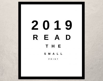 2019 - Read The Small Print